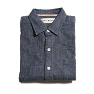 Men's The Normal Brand Gerard Washed Twill Long Sleeve Shirt
