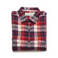 Men's The Normal Brand Seffa Flannel Long Sleeve Shirt