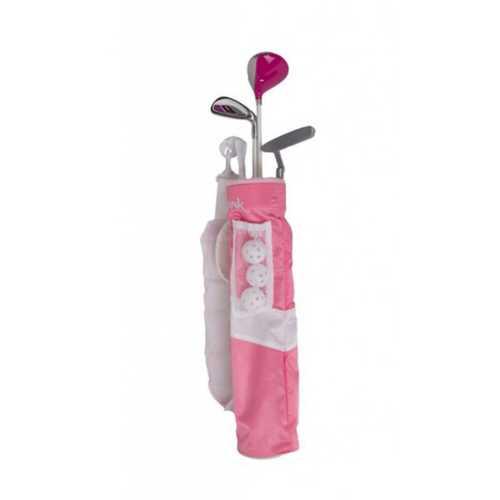Youth Merchants of Golf 3 Piece Pink Tube Set