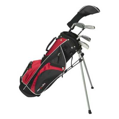 Youth Boys Merchants Of Golf Rezults Junior 9-12 Complete  Club Set