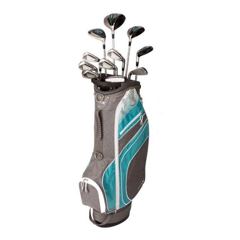 Women's Merchants of Golf Tour X LG23 Teal 16pc. Club Set