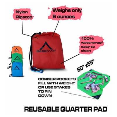Basekamp Reuasable Quarter Pad