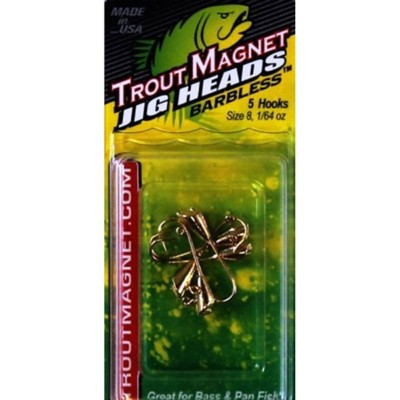 Trout Magnet Jig Head 5 Pack