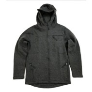 Men's Seeded & Sewn Bonded Full Zip Hoodie