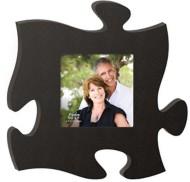 P. Graham Dunn Black Puzzle Photo Frame