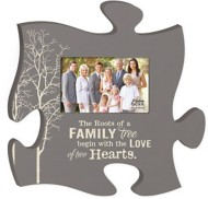 P. Graham Dunn The Roots of a Family Puzzle Photo Frame