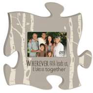 P. Graham Dunn Our Path Puzzle Photo Frame