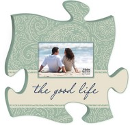 P. Graham Dunn Good Life Puzzle Photo Frame