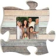 P. Graham Dunn Multi Grey Wood Puzzle Photo Frame