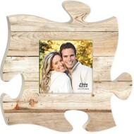 P. Graham Dunn Maple Wood Puzzle Photo Frame
