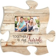 P. Graham Dunn Together Puzzle Photo Frame