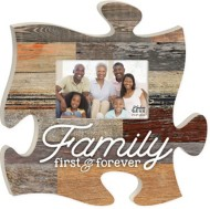 P. Graham Dunn Family Puzzle Photo Frame