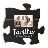 P. Graham Dunn Family First & Forever Puzzle Photo Frame