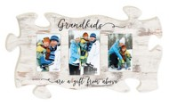P. Graham Dunn Grandkids Are A Gift From Above Puzzle Photo Frame