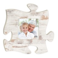 P. Graham Dunn Weathered Faux Wood Puzzle Plaque