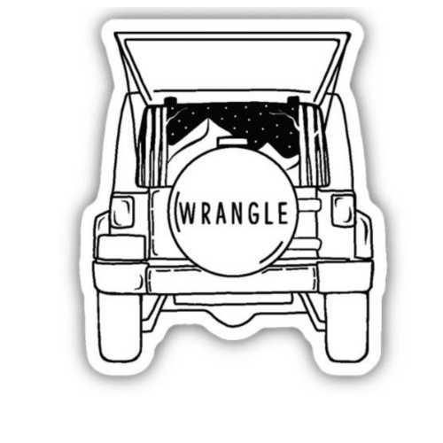 Stickers Northwest Jeep Wrangler Sticker