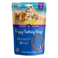 NPIC N-Bone Pumpkin Flavor Puppy Teething Rings