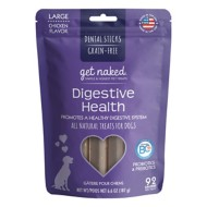 NPIC Get Naked Chicken Flavor Digestive Health Dog Chew