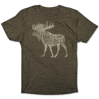 Adult BoneHead Outfitters Shoot The Bull T-Shirt