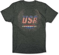 Adult BoneHead Outfitters USA Wings T-Shirt