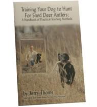 Dokken Dog Supply Shed Antler Training Book