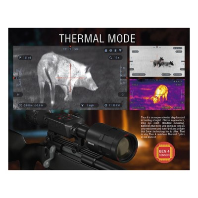 ATN Thor 4 384 1 25-5x Smart Thermal Scope