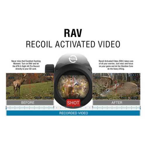 ATN X-Sight 4K Pro 3-14x50 Smart Day/Night Riflescope
