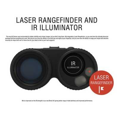 ATN BinoX-4K 4-16X Smart Rangefinding Binoculars