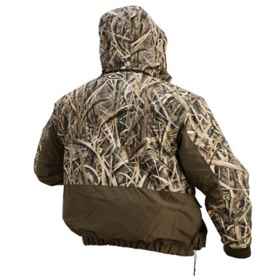 Drake waterfowl camouflage lst 4 in 1 parka