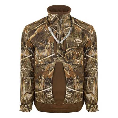 Men's Drake Waterfowl Guardian Flex 1/4 Zip Fleece Lined Pullover