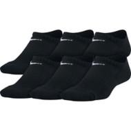 Youth Nike Performance Cushioned No-Show Training Socks - 6 Pack
