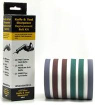 Work Sharp Assorted 6 Pack Sanding Belts