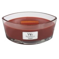 WoodWick Hearthwick Redwood Ellipse Candle