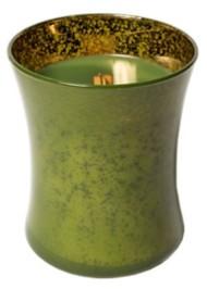 WoodWick Evergreen Mercury Hourglass Jar Candle