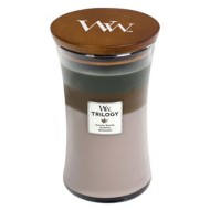 WoodWick Hearthwick Cozy Cabin Trilogy Large Candle