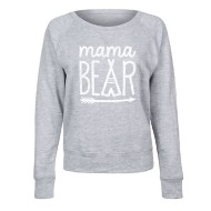 Women's LC Trendz Mama Bear Crewneck Sweatshirt