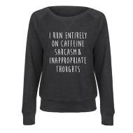 Women's LC Trendz Sarcasm Crewneck Sweatshirt