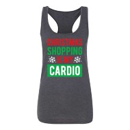 Women's Instant Message Christmas Shopping Tank
