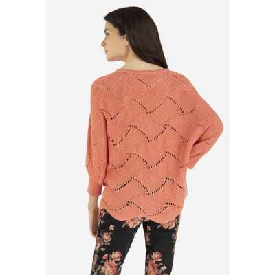 Women's Tribal Boatneck Sweater