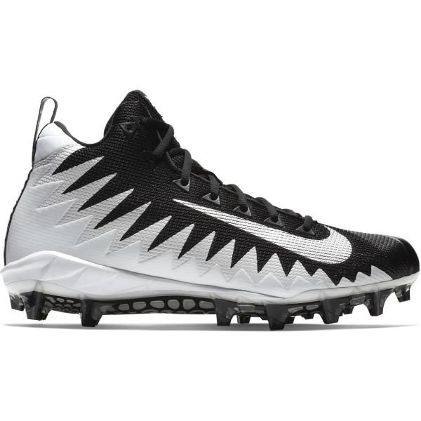 7256c13d5da9 ... Men's Nike Alpha Menace Pro Mid Football Cleats Tap to Zoom; Black/Metallic  Silver-Black Tap to Zoom; White/Metallic Silver-Black