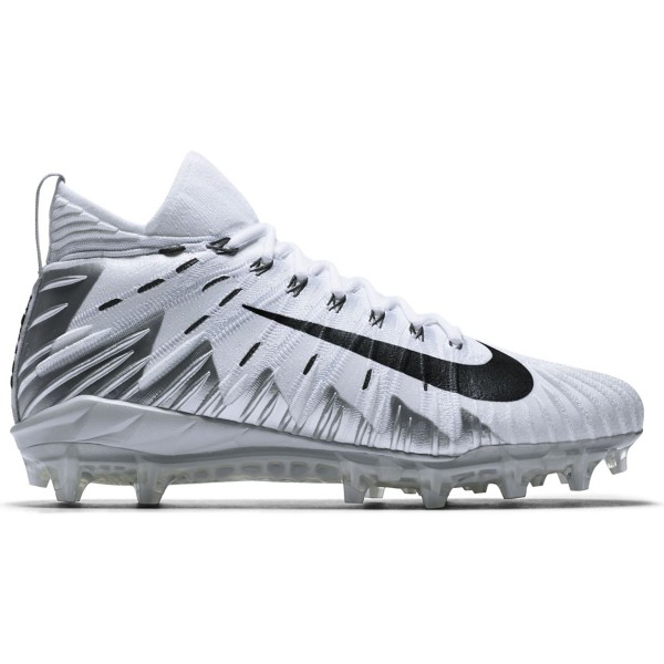 White/Black-Metallic Silver