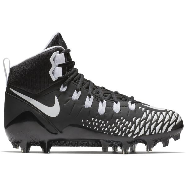 ea241ac68a7 ... Men s Nike Force Savage Pro Football Cleats Tap to Zoom   Black White-Black-Black