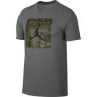 Men's Jordan Iconic 23/7 Black Cat Camo T-Shirt