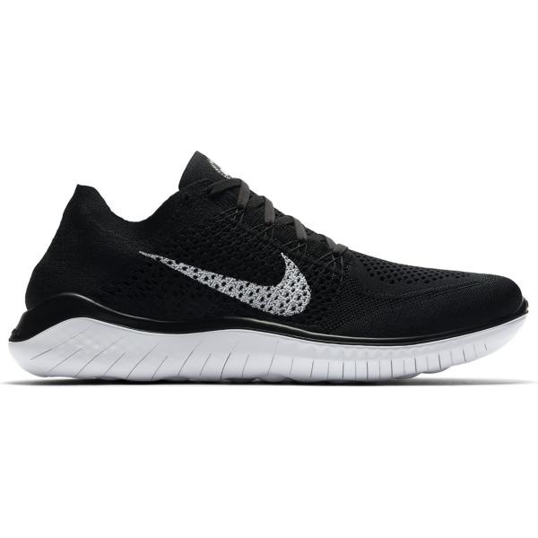 the best attitude 85cda 1a33a ... Men s Nike Free RN Flyknit 2018 Running Shoes Tap to Zoom  Black White