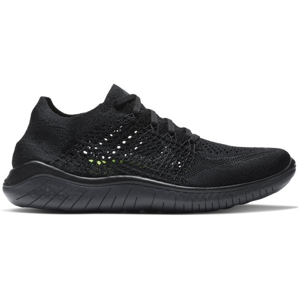 on sale 2f72d 02b49 Tap to Zoom  Black Anthracite Tap to Zoom  Women s Nike Free RN Flyknit  2018 Running Shoes