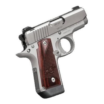 Kimber Stainless Steel Rosewood 380 ACP Handgun