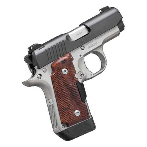 Kimber Micro 9 Two Tone Laser Grip Pistol