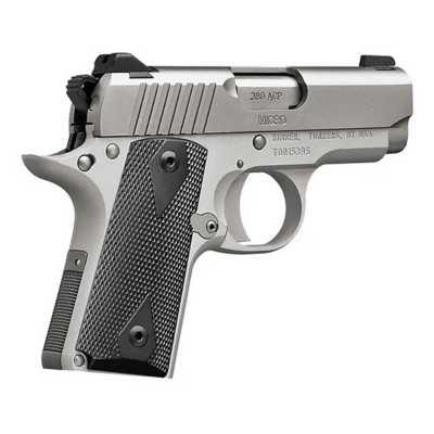 Kimber Micro 380 Stainless .380 ACP Pistol