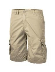 Men's Seeded & Sewn Stretch Khaki Cargo Shorts