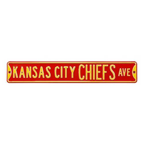 Authentic Street Signs Kansas City Chiefs Ave Street Sign